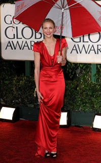 Retro Glam At The Golden Globes