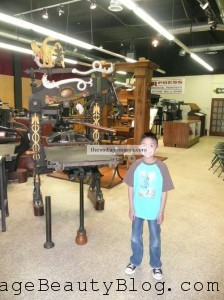 Visiting The Printing Museum