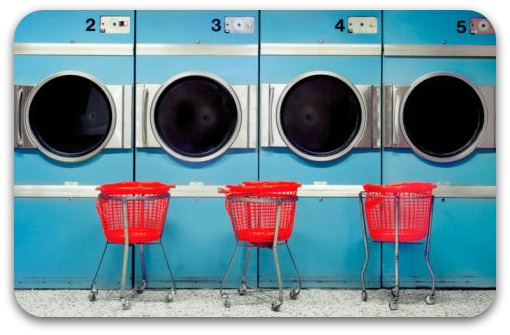 Do Laundry Faster at the Laundromat